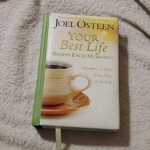 Joel Osteen Your Best Life Devotional book